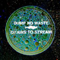 drains to stream
